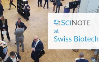 SciNote report from Swiss Biotech Day 2019
